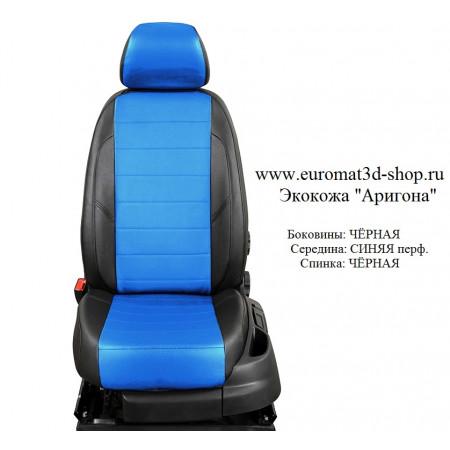 Авточехлы оригинальные из экокожи для сидений Mitsubishi Outlander XL (2006-2012) № AVP-001108