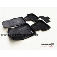 3D Коврики Euromat3D EVA В Салон Для AUDI Q8 (2018-) № EM3DEVA-001108