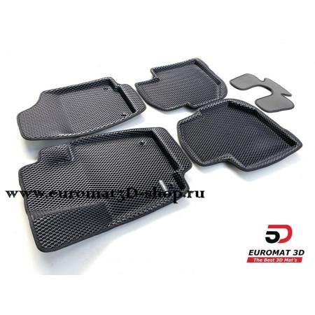 3D Коврики Euromat3D EVA В Салон Для VOLKSWAGEN Polo (2020-) № EM3DEVA-004508.1