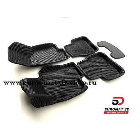 3D Коврики Euromat3D EVA В Салон Для VOLKSWAGEN Passat B7 (2011-2015) № EM3DEVA-005412