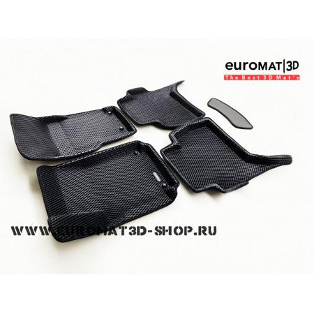 3D Коврики Euromat3D EVA В Салон Для VOLKSWAGEN Amarok (2010-) № EM3DEVA-005417