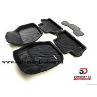 3D Коврики Euromat3D EVA В Салон Для VOLVO XC 60 (2008-) № EM3DEVA-005505