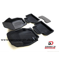 3D Коврики Euromat3D EVA В Салон Для VOLVO XC 70 (2007-) № EM3DEVA-005507