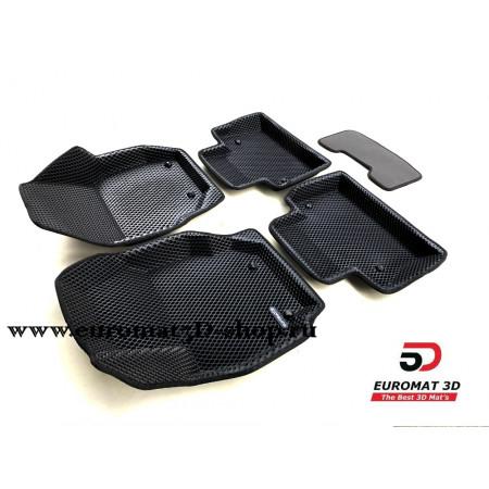 3D Коврики Euromat3D EVA В Салон Для VOLVO S 80 (2006-) № EM3DEVA-005507