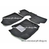 Текстильные 3D коврики Euromat в салон для HYUNDAI i30 (2009 по 2011) № EM3D-002722