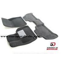 Текстильные 3D Коврики Euromat3D Business В Салон Для BMW X6 (G06) (2018-) № EMC3D-001227G Серые