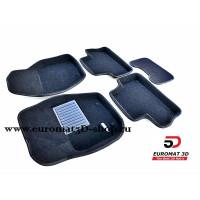 Текстильные 3D коврики Euromat3D Business в салон для VOLVO XC 60 (2008-) № EMC3D-005505