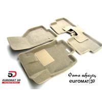 Текстильные 3D Коврики Euromat3D Business В Салон Для BMW X3 (F25) (2010-) № EMC3D-001210T Бежевые