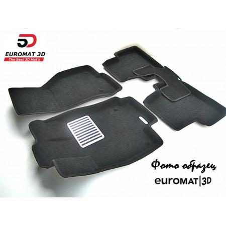 Текстильные 3D Коврики Euromat В Салон Для CHERY Exceed TX (2019-) № EM3D-001423