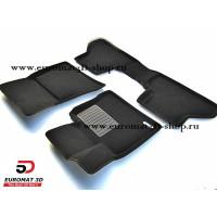 Текстильные 3D коврики Euromat3D Business в салон для BMW X5 (E-70) (2008-2014) № EMC3D-001212
