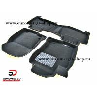 Текстильные 3D коврики Euromat3D Business в салон для TOYOTA Rav 4 (2013-) № EMC3D-005125
