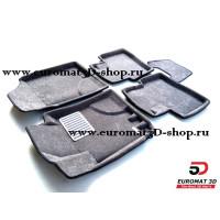 Текстильные 3D Коврики Euromat В Салон Для HYUNDAI Elantra (2006-2008) № EM3D-002722G Серые