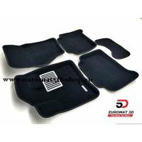 Текстильные 3D коврики Euromat в салон для AUDI Q7 (2005-2014) № EM3D-001105