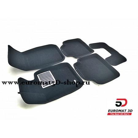 Текстильные 3D Коврики Euromat В Салон Для BMW 3 (F30) (2010-) X-Drive № EM3D-001223