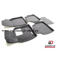 Текстильные 3D Коврики Euromat В Салон Для Lexus ES (2019-) № EM3D-005101G Серые