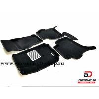 Текстильные 3D коврики Euromat в салон для VOLKSWAGEN Amarok (2010-) № EM3D-005417