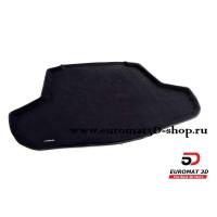 Текстильный 3D Коврик Euromat в багажник Для TOYOTA Camry (2018-) № EMT3D-005101